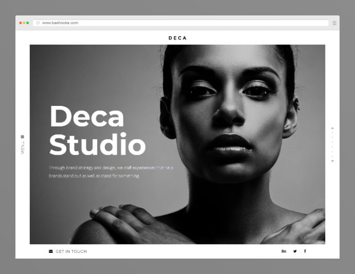 Deca - 35+ Compelling Case Study WordPress Themes [year]