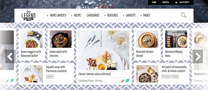 Delicious-Cooking-WordPress-Themes - 36+ Delicious Cooking Idea Share WordPress Themes [year]
