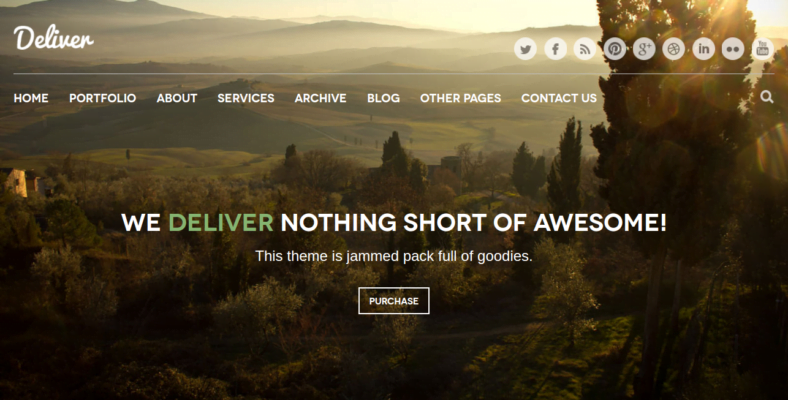 Deliver - 41+ Awesome Responsive HTML5 Web Templates [year]