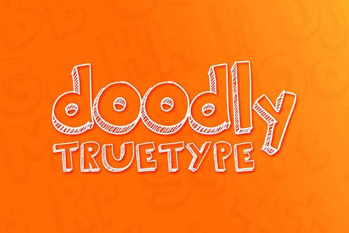 Doodly-Truetype - 51+ Stunning Travel Theme Designs Fonts For Your Website [year]