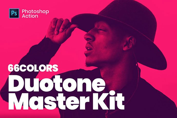 Duotone-Master-Kit - 35+ Awesome Poster Design For Photoshop Actions [year]