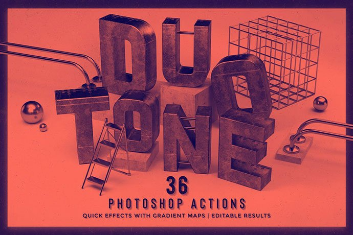 Duotone - 35+ Awesome Poster Design For Photoshop Actions [year]