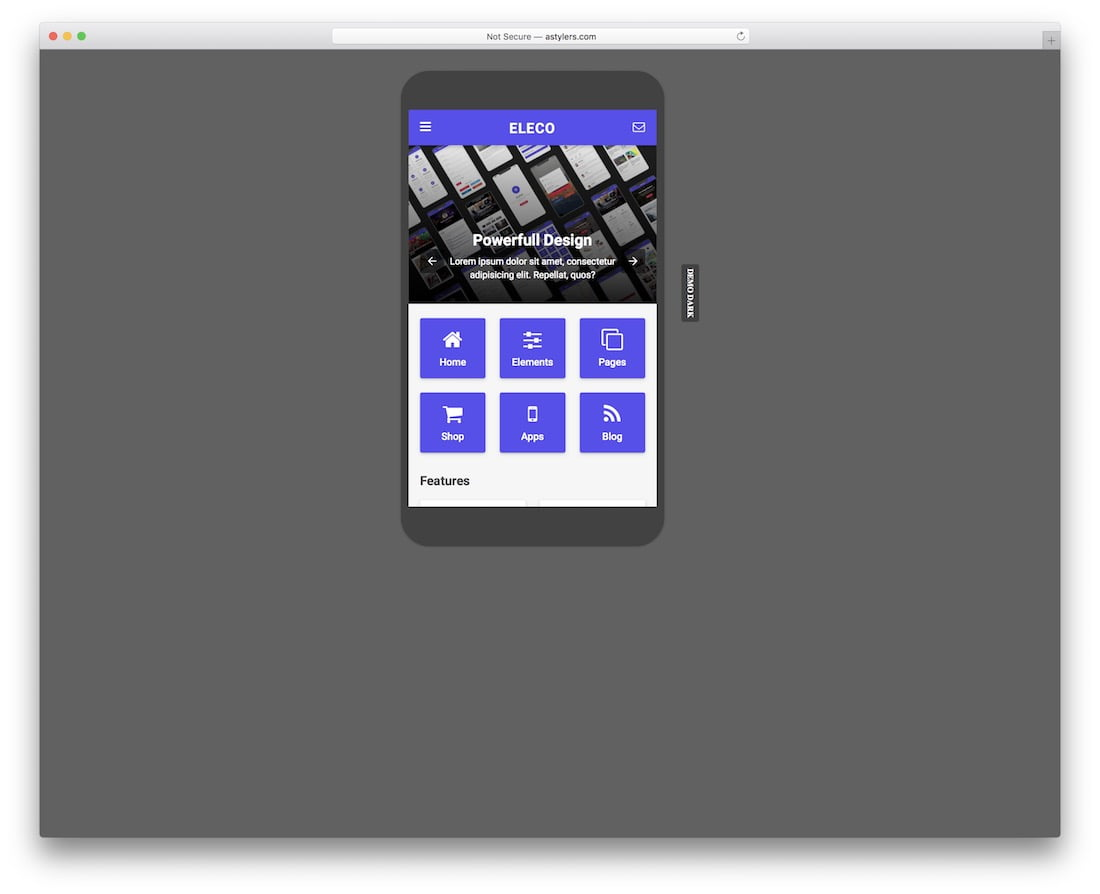 Eleco - 34+ Awesome Mobile First Free & Premium AMP Themes [year]