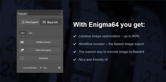 Enigma64 - 41+ Necessary Free Photoshop Plugins & Actions For Designer [year]