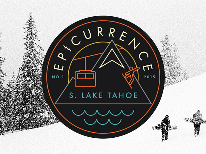 Epicurrence-the-Non-Conference-by-Dann-Petty - 50+ Fantastic BEST FREE Typographic Logo Badge Designs