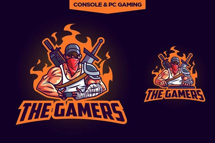 Esports-Professional-Gamers-Logo - 60+ Personal & Team Branding AI & EPS eSports Logo Templates [year]