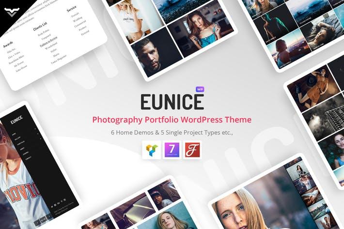 Eunice - 50+ Best Portfolio WordPress Theme Design [year]