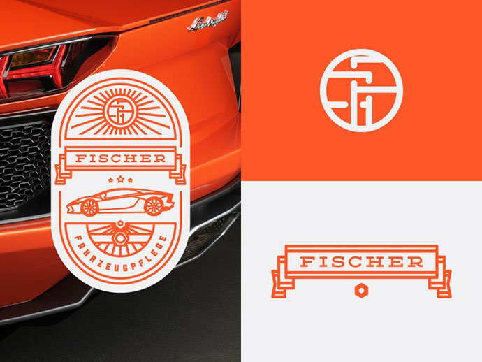 FF-Branding-by-Peter-Voth - 50+ Fantastic BEST FREE Typographic Logo Badge Designs
