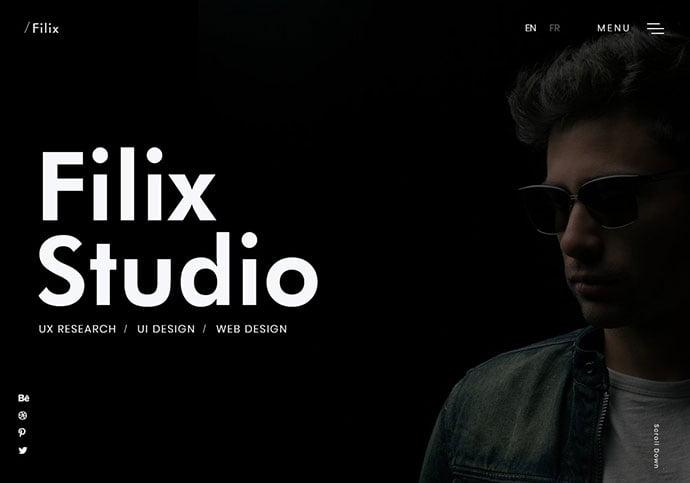 Filix - 35+ Awesome Twitter Bootstrap Portfolio Site Templates