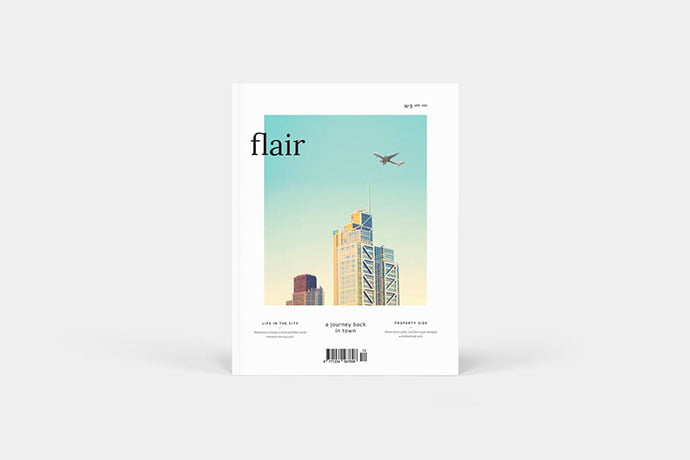 Flair - 50+ Awesome Interior Magazine InDesign Templates [year]