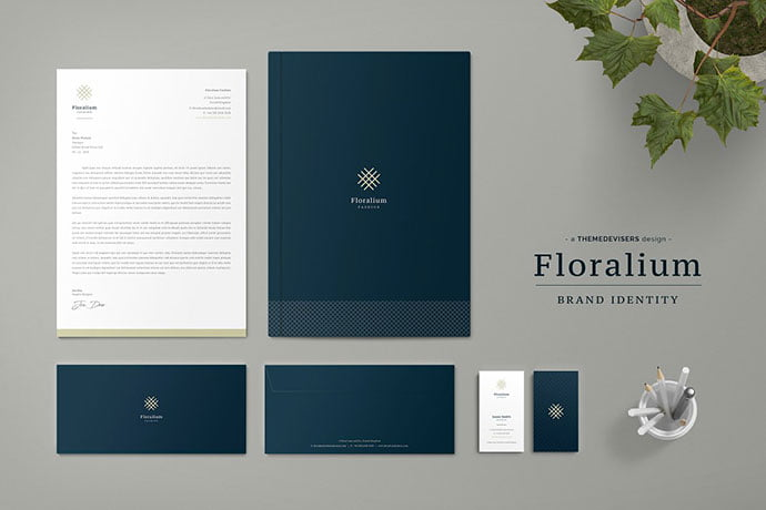 Floralium-Corporate - 35+ Remarkable Stationery Branding Design Templates [year]