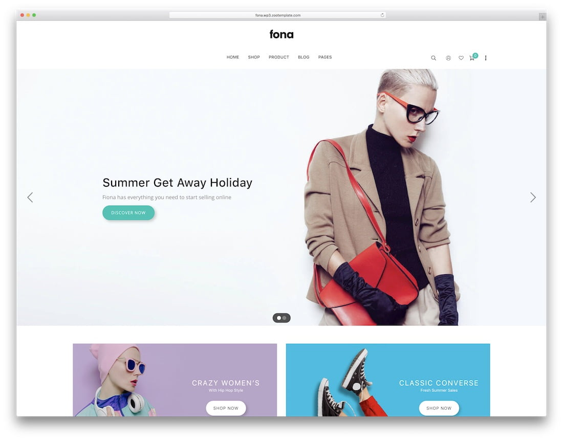 Fona - 34+ Awesome Mobile First Free & Premium AMP Themes [year]