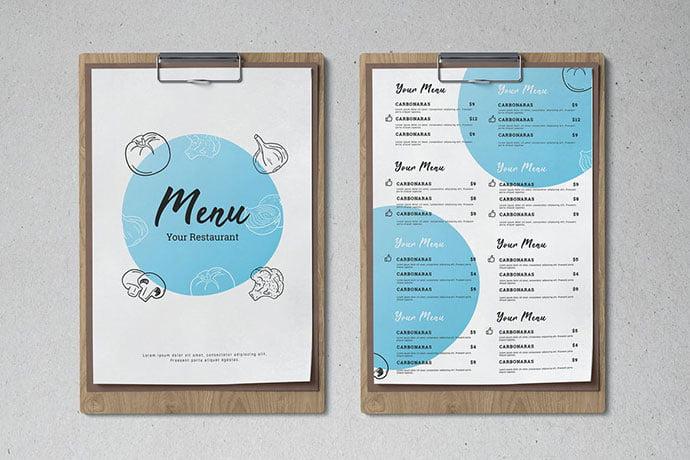 Food-Menu - 35+ NICE Cake and Bakery Menu Design [year]