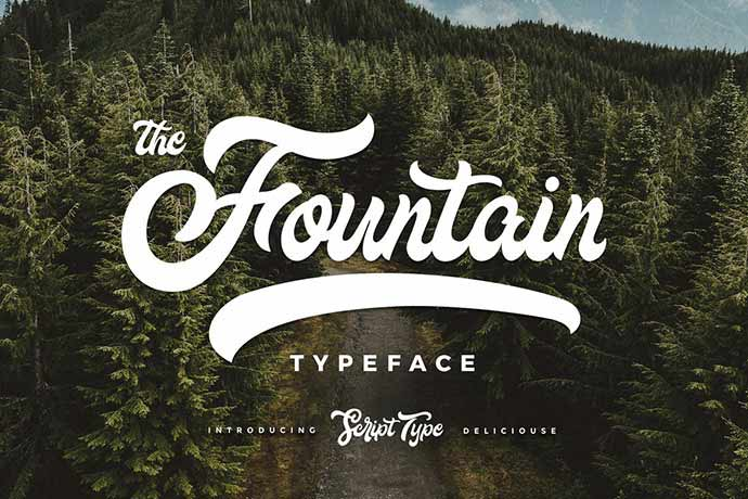 Fountain-Type - 51+ Stunning Travel Theme Designs Fonts For Your Website [year]
