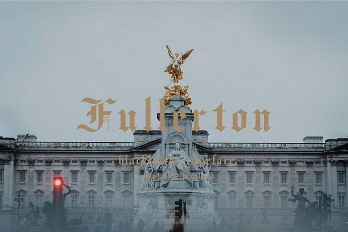 Fullerton-typeface-font