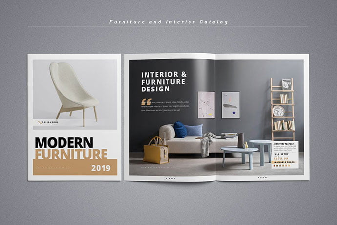 Furniture-and-Interior-Catalog - 50+ Awesome Interior Magazine InDesign Templates [year]