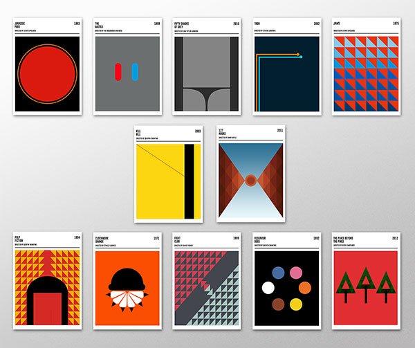 Geometric-Movie-Posters