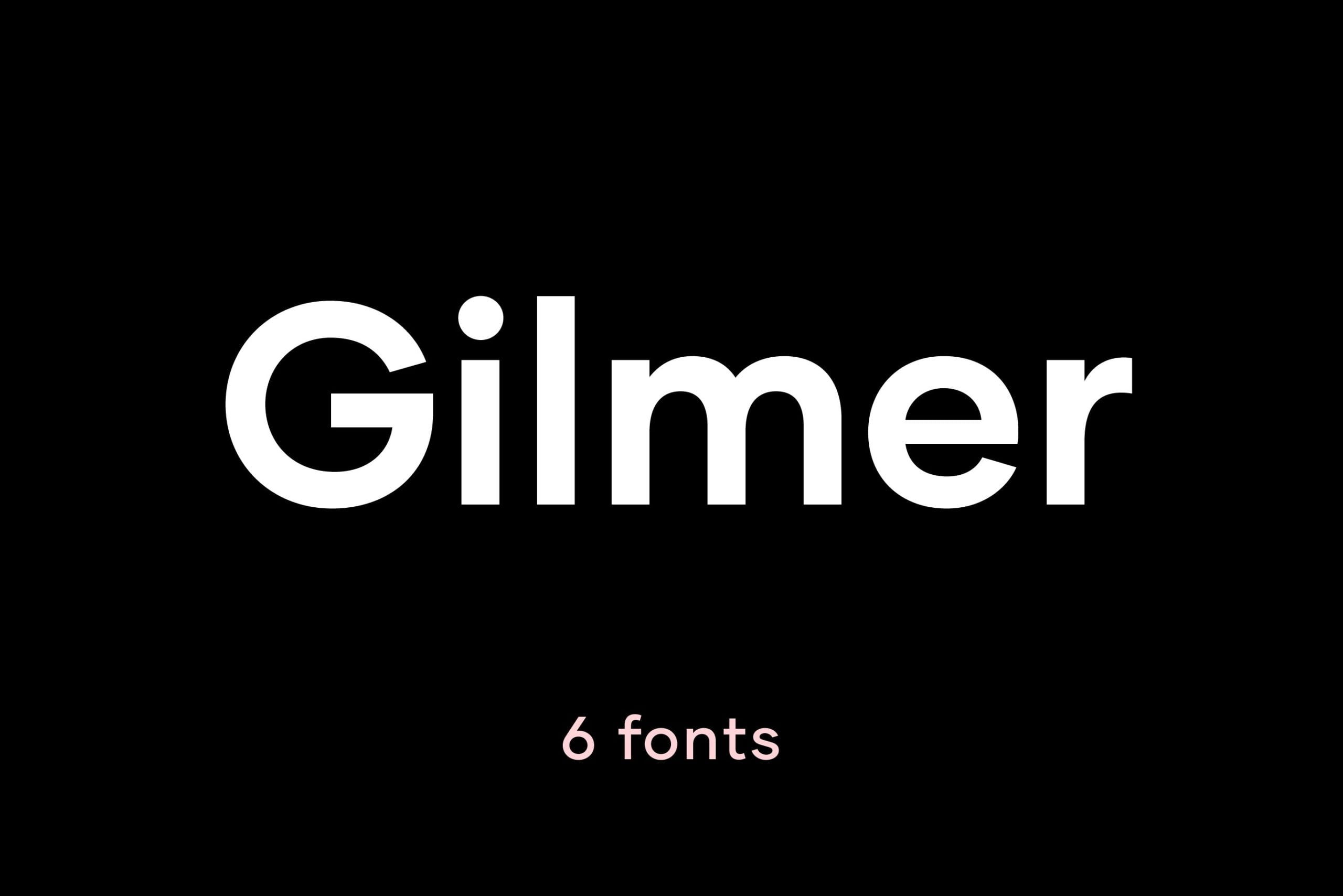 Gilmer-scaled - 30+ Awesome BEST Square based Geometric Fonts [year]
