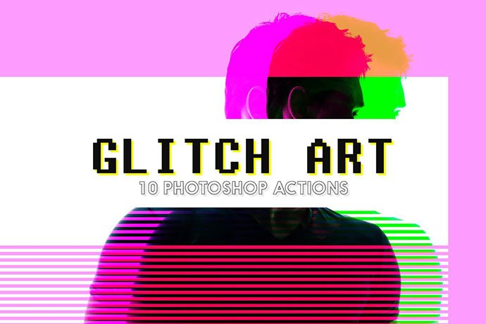 Glitch-Aty - 35+ Awesome Poster Design For Photoshop Actions [year]