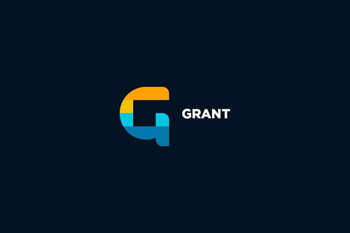 Grant - 50+ BEST Single Letter Business Logo Template [year]