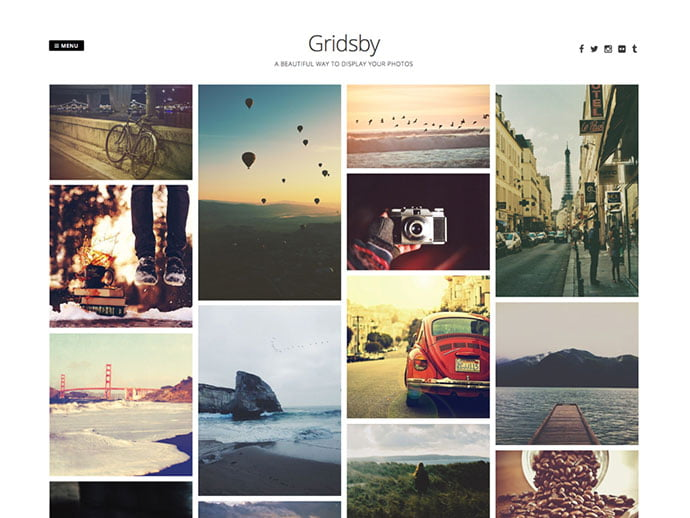 Gridsby - 61+ Free Creating Responsive WordPress Themes [year]