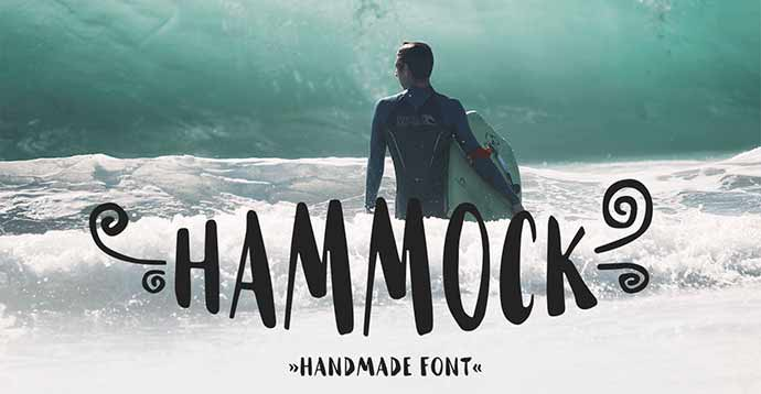 Hammock-Free-Font - 51+ Stunning Travel Theme Designs Fonts For Your Website [year]