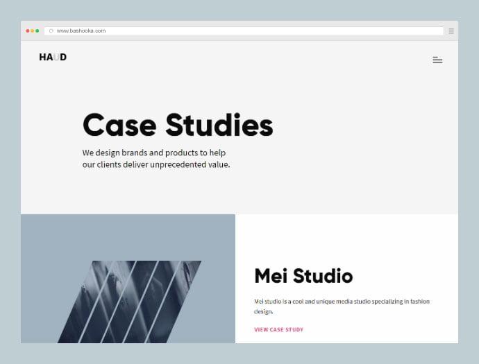 Haud - 35+ Compelling Case Study WordPress Themes [year]