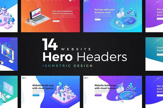 Hero-Image-PSD-Illustration - 31+ Amazing Hero Image PSD Illustration Templates [year]