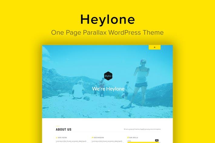Heylone - 50+ Best Portfolio WordPress Theme Design [year]