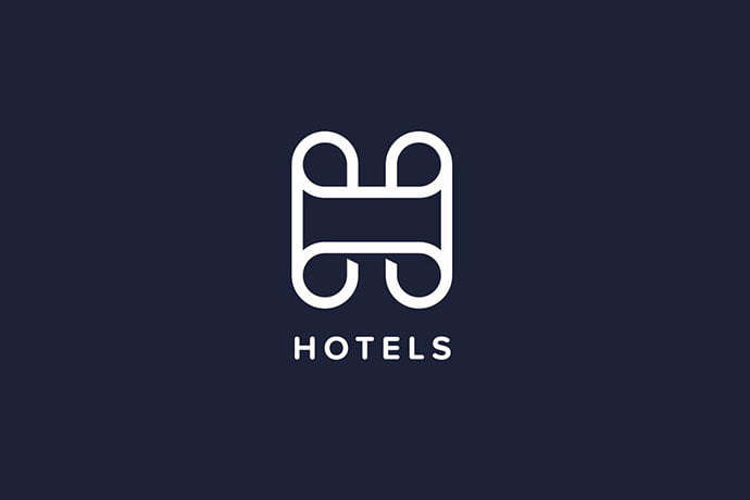 Hotels-H-Letter-Logo-Template - 50+ BEST Single Letter Business Logo Template [year]
