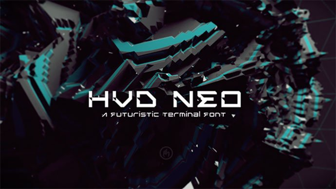 Hvd-Neo - 35+ Fantastic Science Fiction & Fantasy Fonts For You [year]