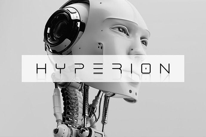 Hyperion - 35+ Fantastic Science Fiction & Fantasy Fonts For You [year]
