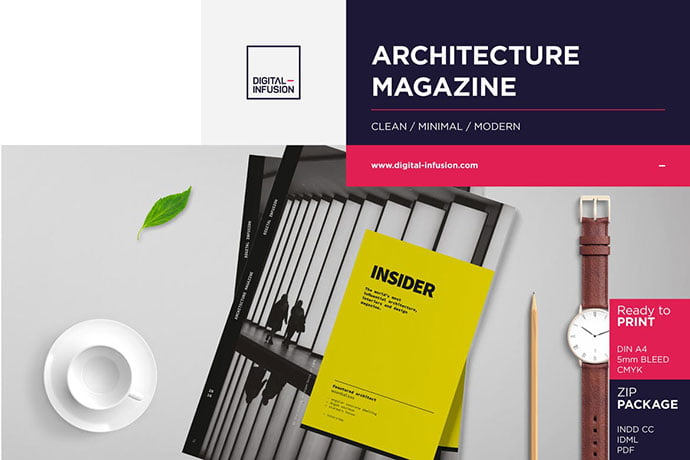 INSIDER - 50+ Awesome Interior Magazine InDesign Templates [year]