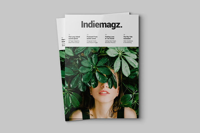 Indie - 50+ Awesome Interior Magazine InDesign Templates [year]