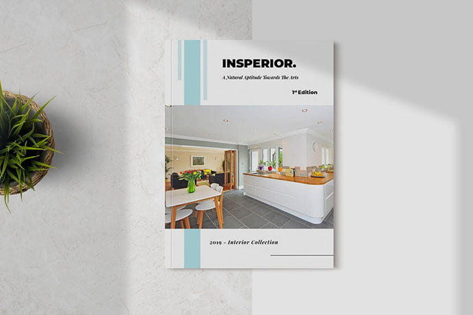 Insperior - 50+ Awesome Interior Magazine InDesign Templates [year]