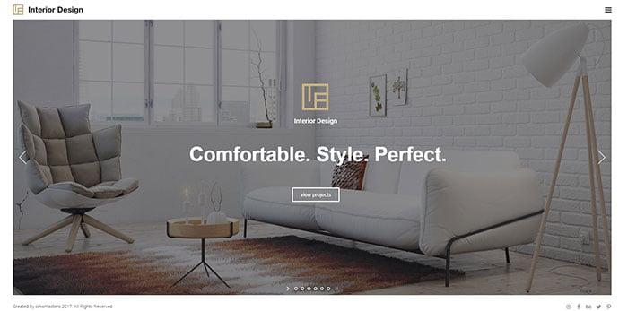 Interior-Design - 36+ Amazing WordPress Themes For Architect Portfolio [year]