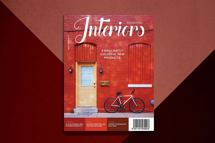 Interiors - 50+ Awesome Interior Magazine InDesign Templates [year]
