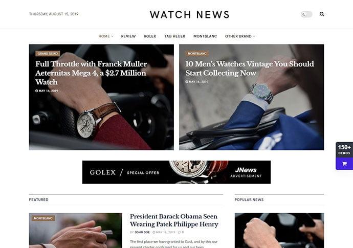 JNews - 45+ Magazine & Blog WordPress Themes To Make Your Website [year]