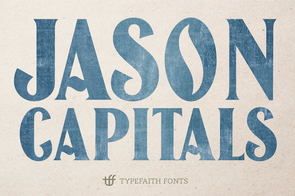 Jason-Caps - 51+ All Caps Fonts For Your Unique Personality Headline Website [year]