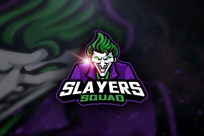 Joker - 60+ Personal & Team Branding AI & EPS eSports Logo Templates [year]