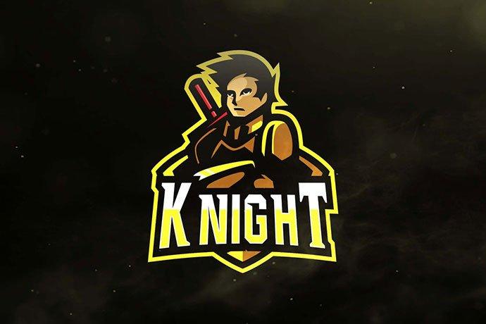 Knight - 60+ Personal & Team Branding AI & EPS eSports Logo Templates [year]