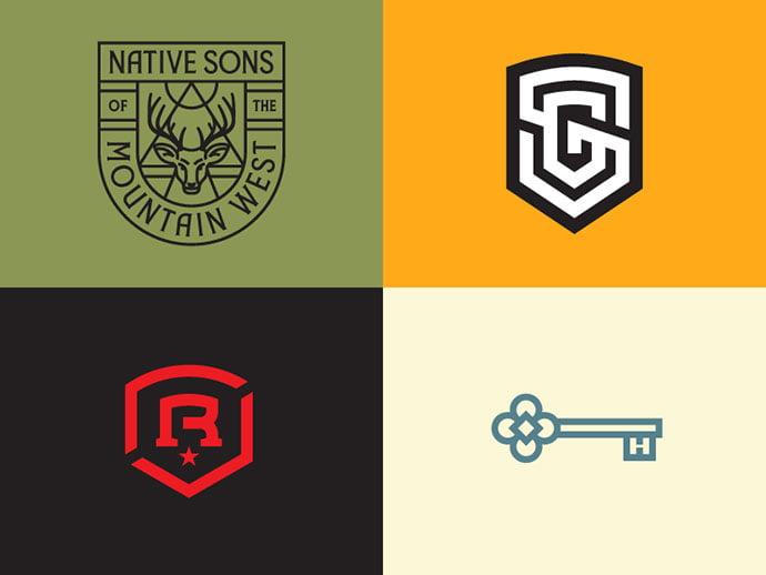 LL9-by-Alex-Rinker - 50+ Fantastic BEST FREE Typographic Logo Badge Designs
