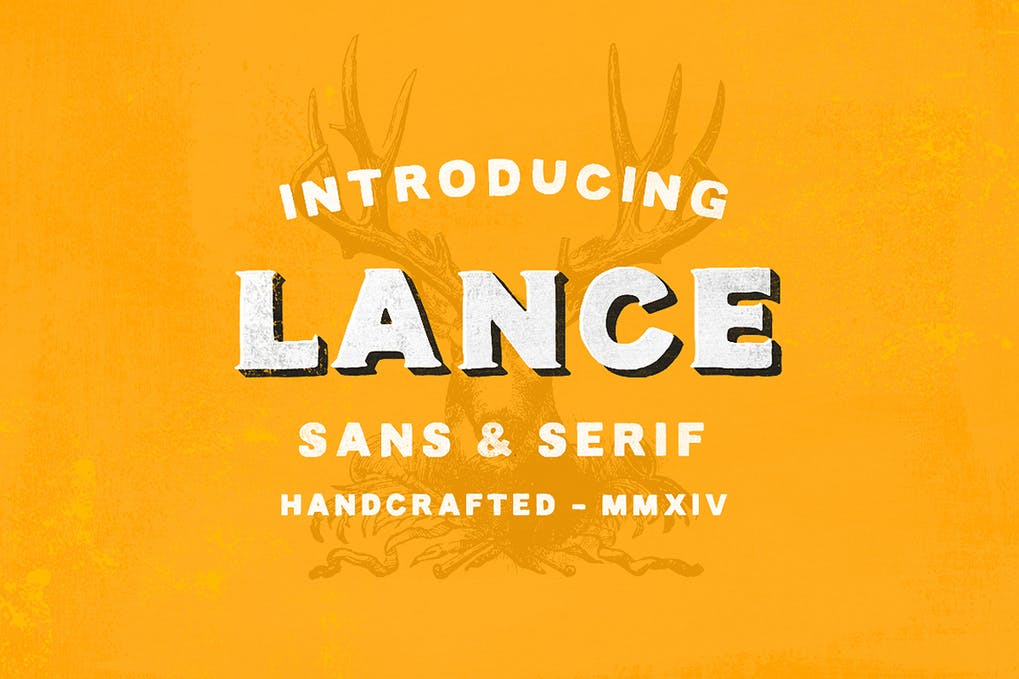 Lance-Sans-Serif-Font-Duo - 51+ All Caps Fonts For Your Unique Personality Headline Website [year]