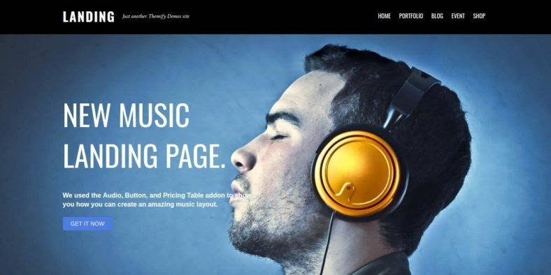 Landing-1 - 37+ Amazing Best WordPress Landing Page Themes [year]