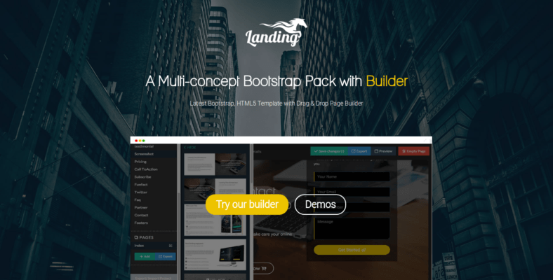 Landing - 41+ Awesome Parallax Landing Page Themes [year]