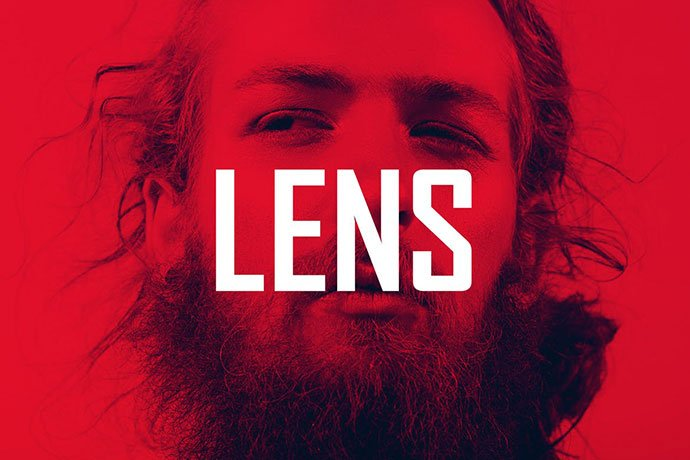 Lens - 35+ Awesome Poster Design For Photoshop Actions [year]