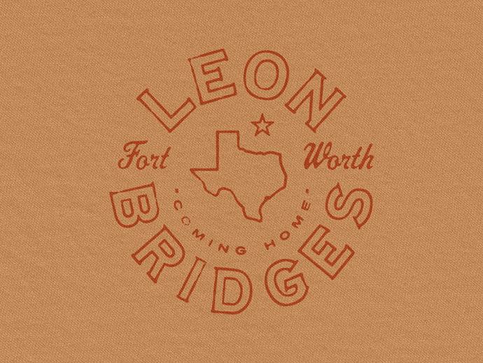 Leon-Bridges-Texas-Seal-by-Brandon-Rike - 50+ Fantastic BEST FREE Typographic Logo Badge Designs