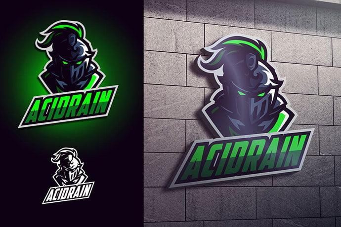 Luminous-Knight-Mascot-Esports-Logo - 60+ Personal & Team Branding AI & EPS eSports Logo Templates [year]