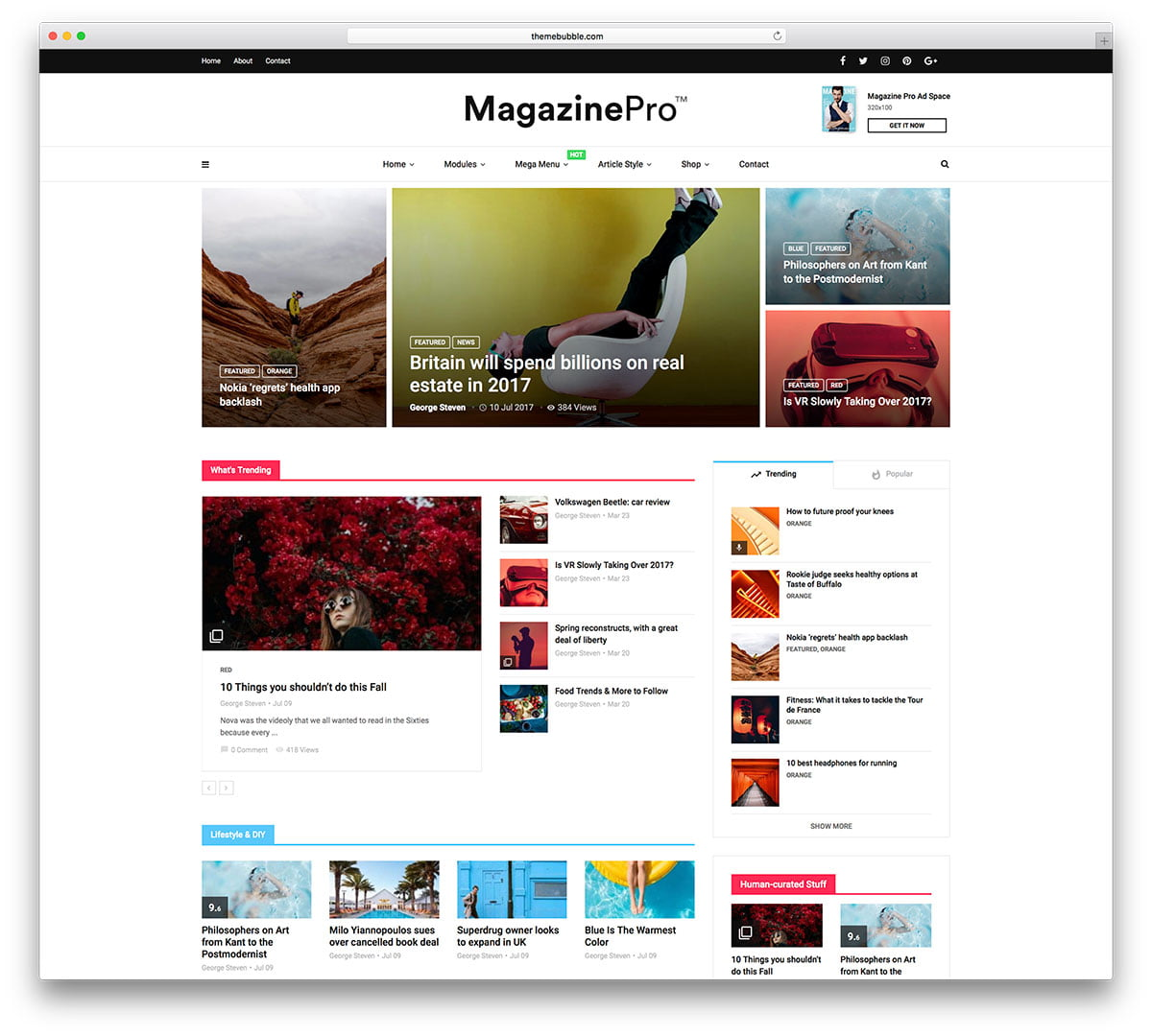 MagPlus - 34+ Awesome Mobile First Free & Premium AMP Themes [year]