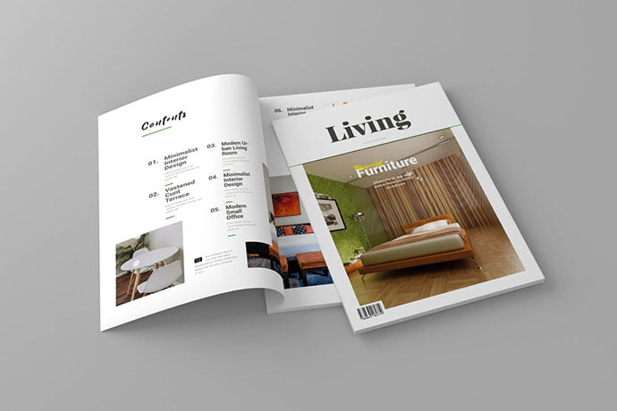 Magazine-Template-Vol.-8 - 50+ Awesome Interior Magazine InDesign Templates [year]